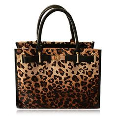Sexy Belt and Leopard Print Design Women's Tote Bag