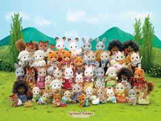 Sylvanian Families (click thru for larger image)