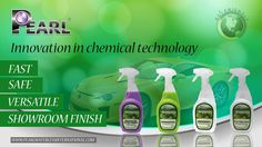 Go Green to Keep it Clean with Pearl... Ethical, sustainable and professional waterless car wash products, exclusively manufactured in Manchester, United Kingdom.
