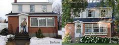 hydrangea/window box/shutters