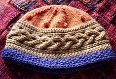 The Do-it-Yourself Hat by Robbyn Kenyon The sample hat was made with worsted weight wool but you needn't stick to that. In fact I wouldn't have stipulated it if the Ravelry form didn't require it. You can use any yarn you like (lace weight might not be your best choice for warmth…) and any size needles. It's the particular construction that allows for this.