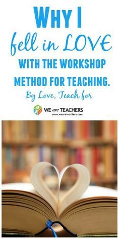 Love, Teach talks about why she loves the workshop method and how she makes it work. Perfect advice for new middle school teachers!