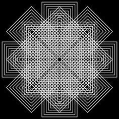 geometric illusions background Stock Photo - 9110321