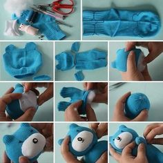 Making a stuffed toy #howto