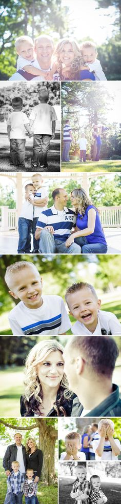 Family of 4 photos in the park by DSD Media Studios. Just not the kissing one I find them to b tacky