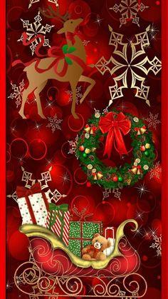 Merry Christmas Gif, Christmas Gifts For Friends, Christmas Scenes, Merry Christmas And Happy New Year, Retro Christmas, Christmas Pictures, Christmas Art, Christmas Greetings, Christmas Holidays