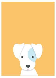 Usaremos silueta #dog Art Drawings For Kids, Cute Drawings, Animal Drawings, Drawing Ideas, Art And Illustration, Pattern Illustration, Dog Wallpaper, Animal Wallpaper, Baby Posters