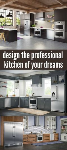 Are you planning a kitchen remodel soon? Then you've got to come check out our tips on designing the professional kitchen of your dreams!