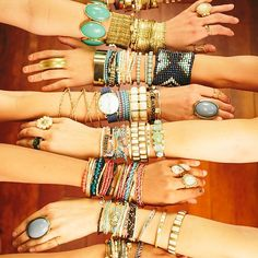 Arm candy to the max!