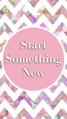 Pink White Sequins Chevron Start Something New Iphone Wallpaper Phone Background Lock Screen