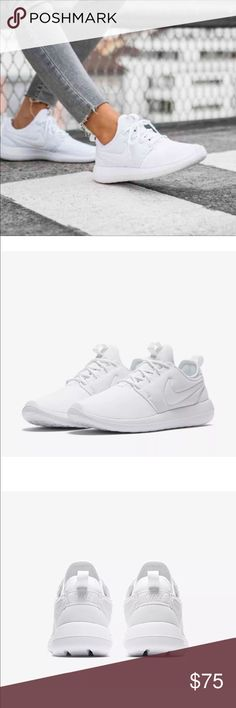 NIKE Roshe 2 White Sneakers Brand new in box Nike Shoes Sneakers