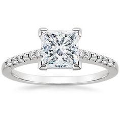 18K White Gold Sonora Diamond Ring