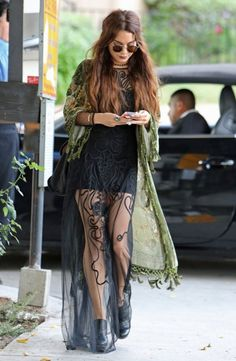 [Vanessa hudgens does boho like no one else, always been a style inspiration although I could never pull it off like her]