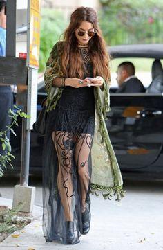 Vanessa hudgens does boho like no one else