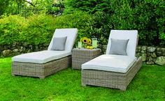 Sag Harbor chaise lounge chair, cushions available it different colors. #chaise #lounge #chairs #cushions #kingsleybate #patio #furniture