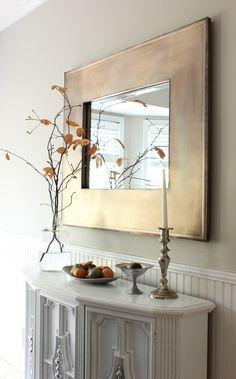 Cheap Fall DIY Decor | Dining Room Decor Ideas