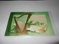 Clapsaddle Postcard St Patrick's Day Irish Germany 1908 Divided Back      4240 #StPatricksDay