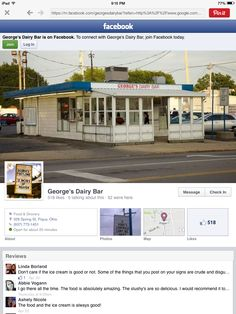 George's 329 spring st. Piqua, OH great footlong coneys and icecream