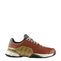 huge discount 6e5e0 318d1 adidas Performance Men s Barricade 2016 Mustachio Tennis Shoe, Craft Ochre  Metallic Gold Bliss, 11 M US
