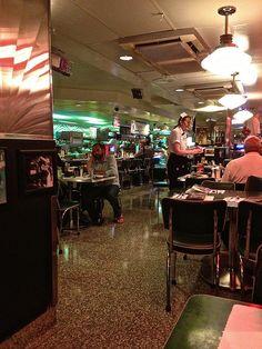 inside Mel's Drive-In Diner in San Francisco