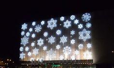 Luces de #Navidad en el Centro Comercial de #Malaga #ElCorteIngles