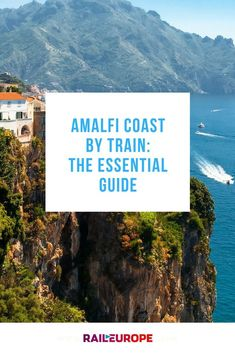 Learn the best and most efficient way to travel to the Amalfi coast by train from Rome and Southern Italy. Almafi Coast Italy, Italy Coast, Amalfi Coast, Italy Vacation, Vacation Trips, Vacation Ideas, Dream Vacations, Italy Honeymoon, Honeymoon Ideas