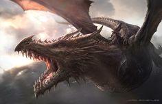 Gli Arcani Supremi (Vox clamantis in deserto - Gothian): Le dimensioni di Drogon rispetto a Balerion e agli altri draghi di GoT e del fantasy in generale