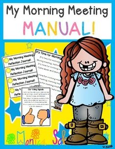 A Morning Meeting Manual Get started right away with a classroom morning meeting!