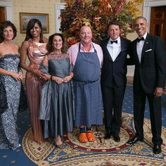 Thank-you  @barackobama and @michelleobama  for the finest leadership Susi and I've ever witnessed.  It was an honor to cook for you  and to be on your team  Good luck and good spaghetti in your future !!