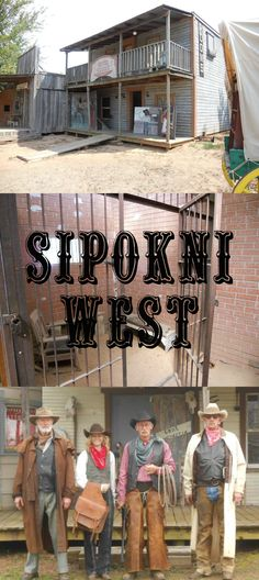 Sipokni West in Tishomingo - An awesome Old West town with annual events, buildings furnished with time period antiques, a cafe and plenty to see and do!