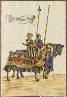BSB Cod. icon. 403 Hans Burgkmair Tournament Book 1540