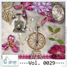 Vol. 0029 - Vintage Mix  by Doudou's Design  cudigitals.com cu commercial scrap scrapbook digital graphics#digitalscrapbooking #photoshop #digiscrap