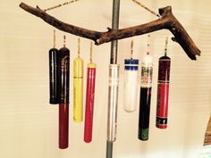 Recycled cigar tubes Wind Chimes For Sale, Cigar Tube, Cigars, Recycling, Outdoor Decor, Home Decor, Decoration Home, Room Decor, Cigar
