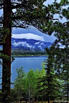 Big Bear Lake, California - My mother's brother lives in the area.