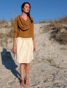 Gaia Conceptions - Anoki Short Skirt, $80.00 (http://www.gaiaconceptions.com/anoki-short-skirt/)