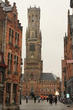 Bruges, Belgium - so many memories.