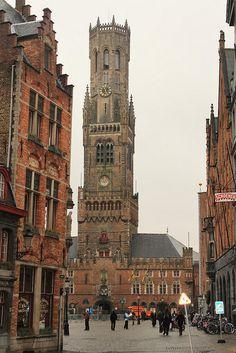 Bruges, Belgium - so many memories.