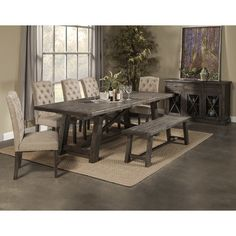 Alpine Furniture Newberry Dining Table. Get unbelievable discounts up to 70% Off at Wayfair using Coupon & Promo Codes.