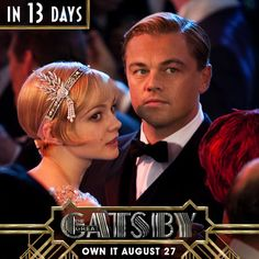 Share the countdown to unlock an exclusive reward! The Great Gatsby on Blu-ray™ August 27th http://gatsbycountdown.com