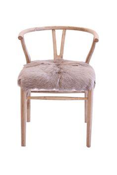 goatskin chair