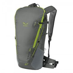 The name says it all: Its wedge shape narrows at the bottom for an ergonomic fit. Padded shoulder straps and 3D open mesh on the back panel keep you comfortable, from around town to more active endeavors. The bungee cord works two ways: Fasten it vertical