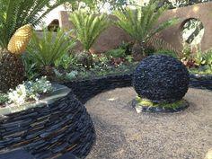 Sunken Cycad Garden - 2012 Show Garden - Overall winner
