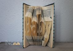BABY - Folded Book Art - Little Ones Collection