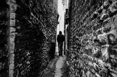 Prompt: Contrary to popular belief alleys are a great way to lose what's chasing you… assuming you're a shadow monster. Image Source: Ales Krivec via stocksnap.