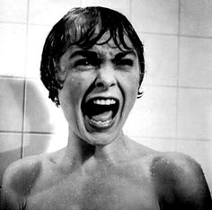 Maybe the best known image from Alfred Hitchcoks 1960 Psycho.