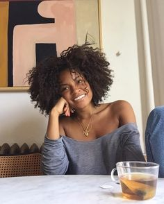 The 2018 Hair Trends We're Taking Straight Into The New Year Hair Styles 2016, Curly Hair Styles, Natural Hair Styles, Big Hair, Your Hair, Short Hair, Pelo Afro, Corte Y Color, Natural Curls
