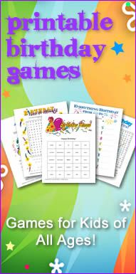 How convenient! Go-to Kid's Birthday Games!
