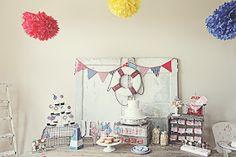 ... + Nina Designs + Parties: Cumpleaños Marinero! / Nautical Birthday!