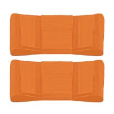 (http://www.lillybee.com/bright-orange-shoe-clips/) @UTSports