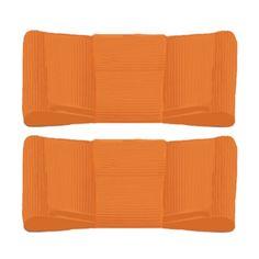 lillybee - Bright Orange Shoe Clips, $15.00 (http://www.lillybee.com/bright-orange-shoe-clips/)